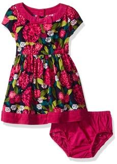 Gymboree Little Girls & Toddler Short Sleeve Floral Dress Multi