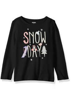 Gymboree Girls' Toddler Long Sleeve Graphic Tee
