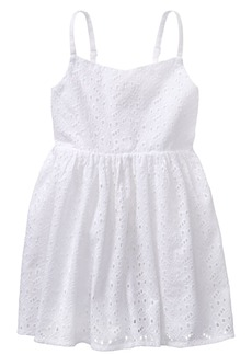 Gymboree Girls' Toddler Sleveless Eyelet Dress