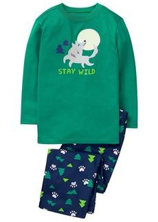Gymboree Little Boys' 2 Piece Pajama Set  XS