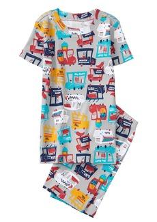 Gymboree Little Boys' 2-Piece Short Sleeve Tight Fit Pajama Set