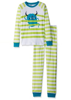 Gymboree Boys' Little 2-Piece Tight FIT Long Sleeve Pajama Set