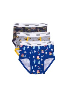 Gymboree Little Boys' 3-Pack Weekend Briefs Camo  XS