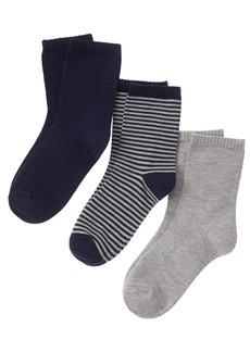 Gymboree Little Boys' Crew Socks (Pack of 3)  L