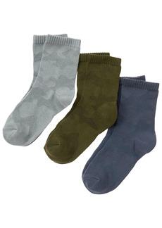 Gymboree Little Boys' Crew Socks (Pack of 3)  S