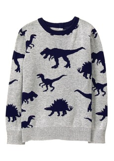 Gymboree Boys' Little Dino Sweater  L
