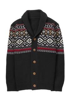 Gymboree Little Boys' Fairaisle Cardigan Sweater  S