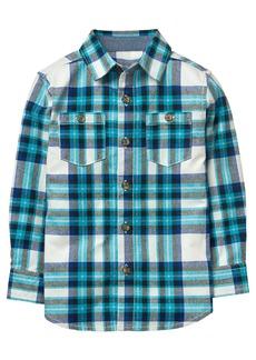 Gymboree Boys' Little Flannel Button Up Shirt  M