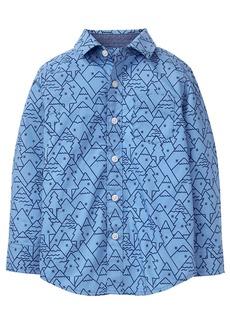 Gymboree Little Boys' Long Sleeve Mountain Shirt  S