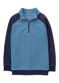 Gymboree Little Boys' Mock Neck Pullover  L