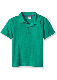 Gymboree Little Boys' Pocket Polo Shirt with Front Pocket