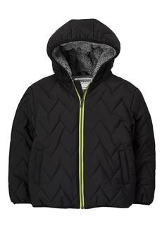Gymboree Little Boys' Puffer Jacket  L