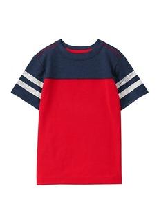 Gymboree Little Boys' Short Sleeve Athletic Top  M