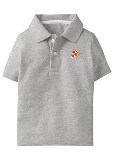 Gymboree Little Boys' Short Sleeve Pique Polo  L