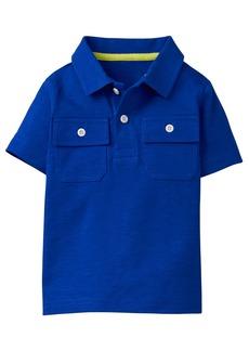 Gymboree Boys' Little Short Sleeve Pocket Polo  L