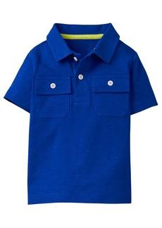 Gymboree Little Boys' Short Sleeve Pocket Polo  S