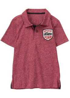 Gymboree Little Boys' Short Sleeve Polo  M