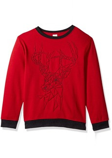 Gymboree Little Boys' Winter Pullover Sweatshirt  M