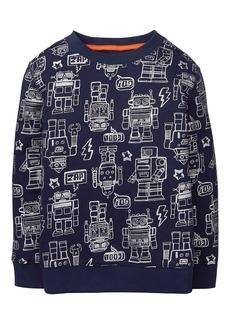 Gymboree Boys' Little Winter Pullover Sweatshirt  M