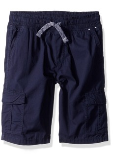 Gymboree Boys' Little Woven Drawstring Cargo Short