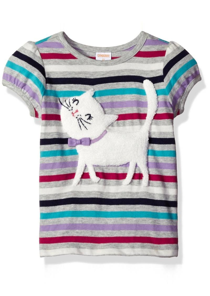 Gymboree Little Girls & Toddler Cattitude Graphic Tee