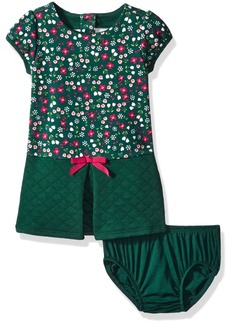 Gymboree Little Girls & Toddler Floral Pieced Quilted Dress Multi