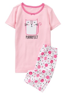Gymboree Little Girls' 2-Piece Pajama Set