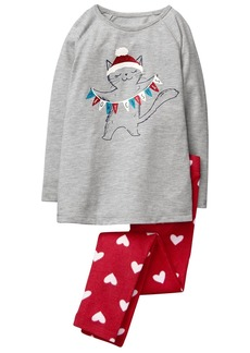 Gymboree Little Girls' 2 Piece Pajama Set  M