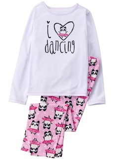 Gymboree Girls' Little 2 Piece Pajama Set  XS