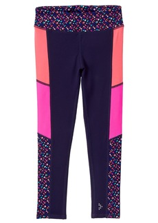 Gymboree Little Girls' Active Colorblock Legging  S