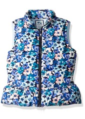 Gymboree Little Girls' and Toddler Short Sleeve Print Puffer Vest  S
