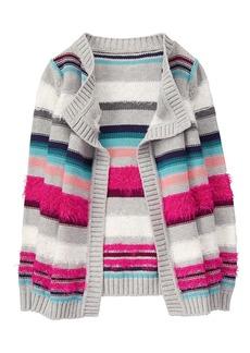 Gymboree Little Girls' Blanket Sweater  M