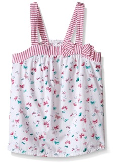 Gymboree Little Girls' Butterfly Prink Tank with Stripe Bow