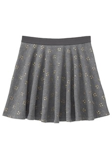 Gymboree Girls' Little Cat Print Skater Skirt  L