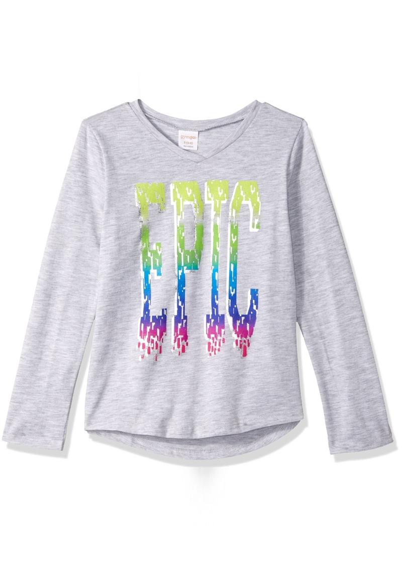 dbb66e6e Gymboree Gymboree Little Girls' Epic Graphic Tee M | Tshirts