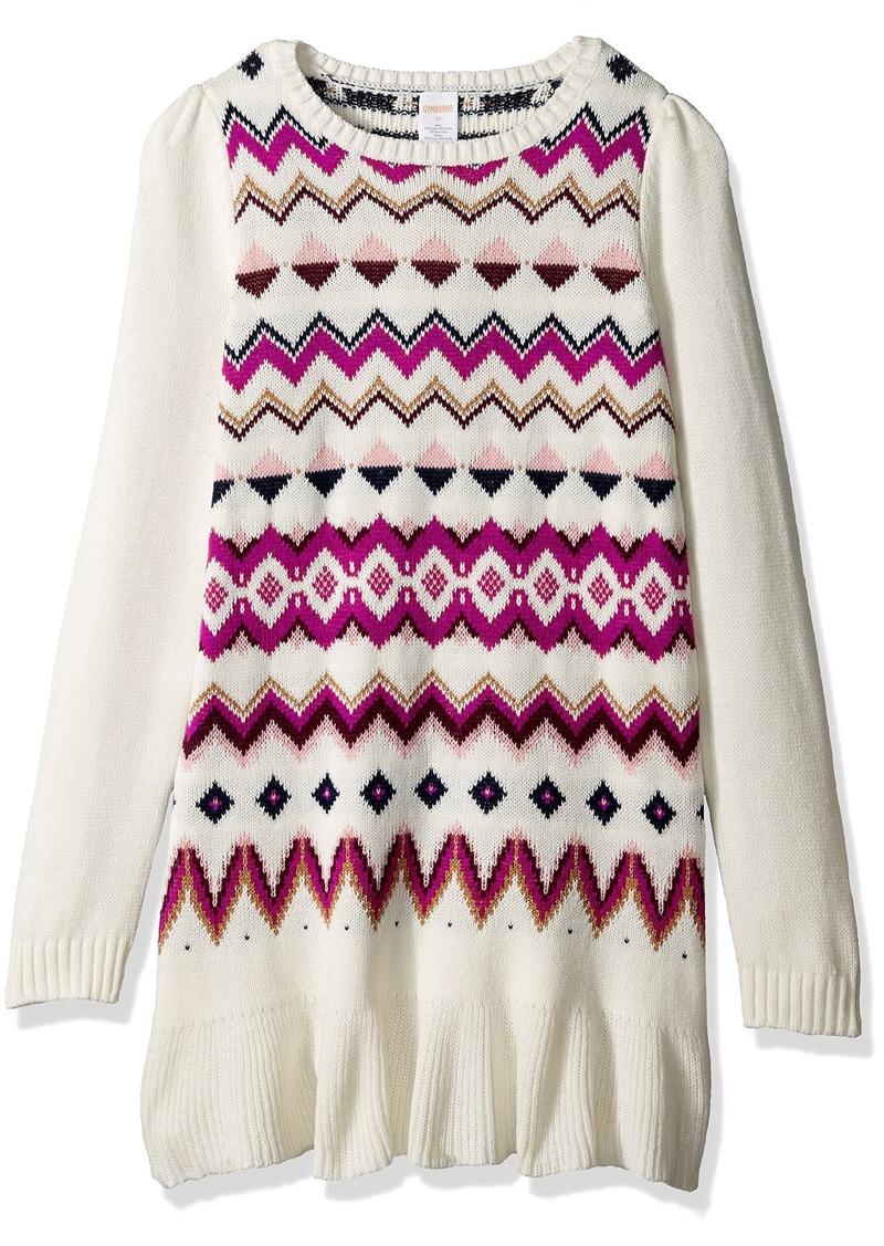 Gymboree Gymboree Little Girls' Fairisle Print Sweater Dress ...