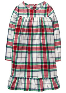 Gymboree Little Girls' Family Plaid Sleep Gown  M