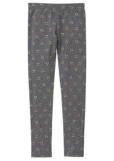 Gymboree Little Girls' Knee Artwork Legging  XS