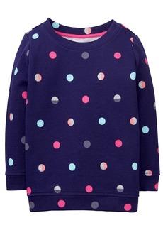 Gymboree Girls' Little Long Sleeve Sparkle Pullover  S