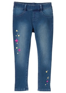 Gymboree Little Girls' Pant with Glitter Artwork