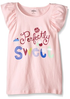 Gymboree Girls' Little Pink Pretty Sweet Graphic Tee