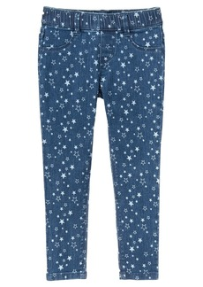 Gymboree Girls' Little Star Print Denim Pant