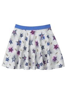 Gymboree Little Girls' Star Print Skater Skirt  L