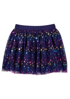 Gymboree Girls' Little Star Print Tulle Skirt Rainbow M