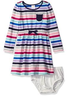 Gymboree Little Girls' Toddler Long Sleeve Everyday Dress