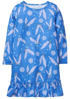 Gymboree Little Girls' Winter Print Sleep Gown  M