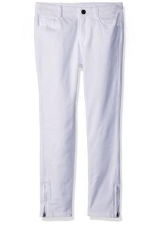 Gymboree Girls' Little Zip Ankle Pant