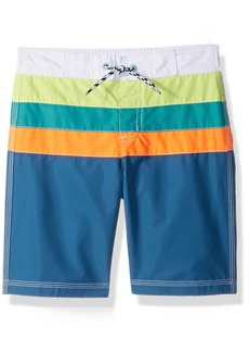 Gymboree Toddler Boys' Colorblock Swim Trunks