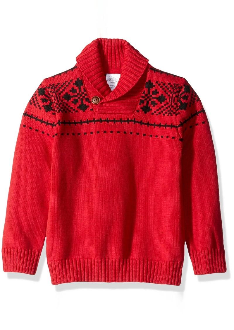 Gymboree Gymboree Toddler Boys' Cozy Fairisle Sweater XS ...