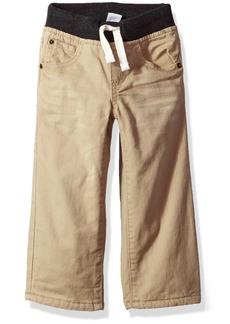 Gymboree Boys' Toddler Fleece-Lined Jeans Dexter TAN